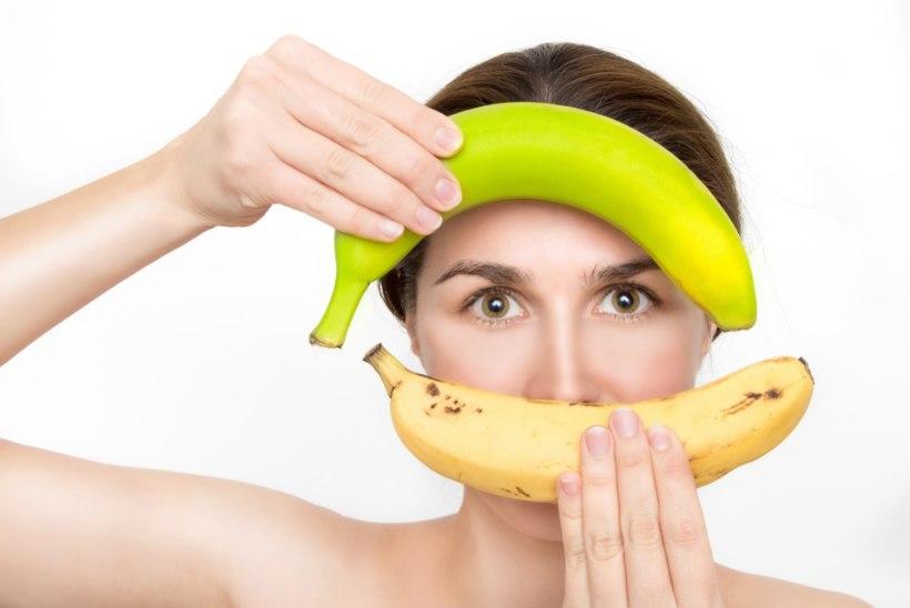 Kas teadsid, et banaan aitab treeningpingutusest taastuda?