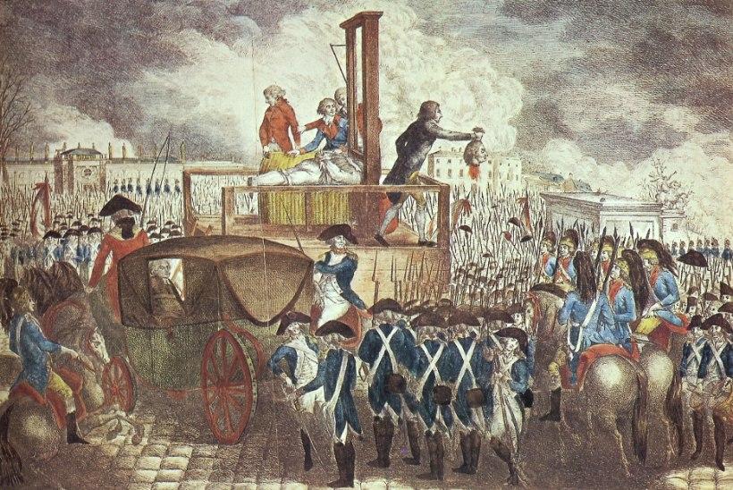 MINEVIKUHETK | 21. jaanuar: giljotiiniga hukati kuningas Louis XVI