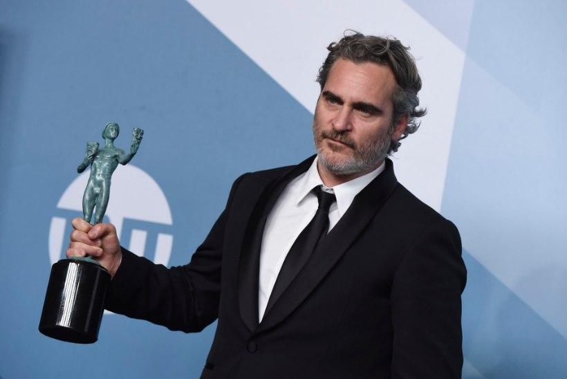 Joaquin Phoenix läks pärast auhinna võitmist tapamajja sigu lohutama