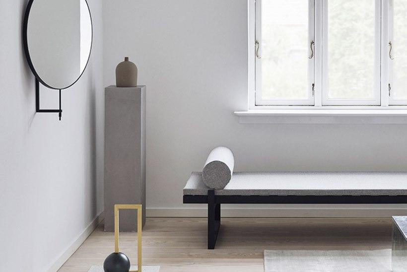 Taani disaineri Kristina Dami loodud pöörlev peegel võlub ennekõike funktsionaalsusega