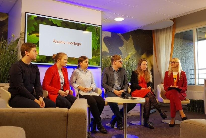 VIDEO   Noorem põlvkond soovib saada kuus 1500 eurot palka
