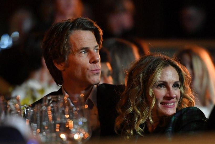 Julia Roberts ja tema mees jäid kordki ühisele fotole!