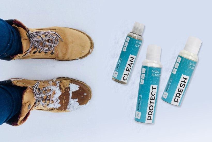 Kas porised ja soolaga kaetud kingad on paratamatus?