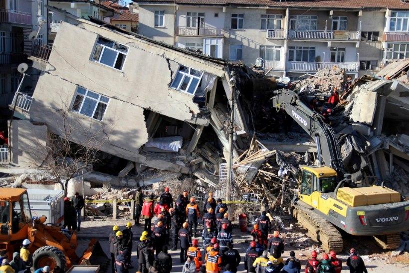 Türgis toimunud tugev maavärin nõudis vähemalt 21 inimelu
