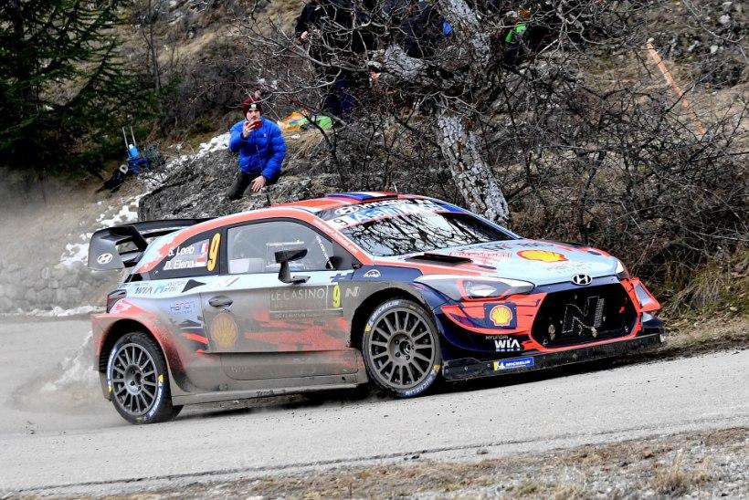 VIDEO | Sebastien Loeb elas Monte Carlos üle äreva hetke