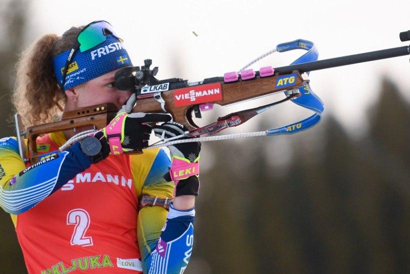 Öberg edestas puhtalt lasknud konkurente ja sai hooaja esimese võidu
