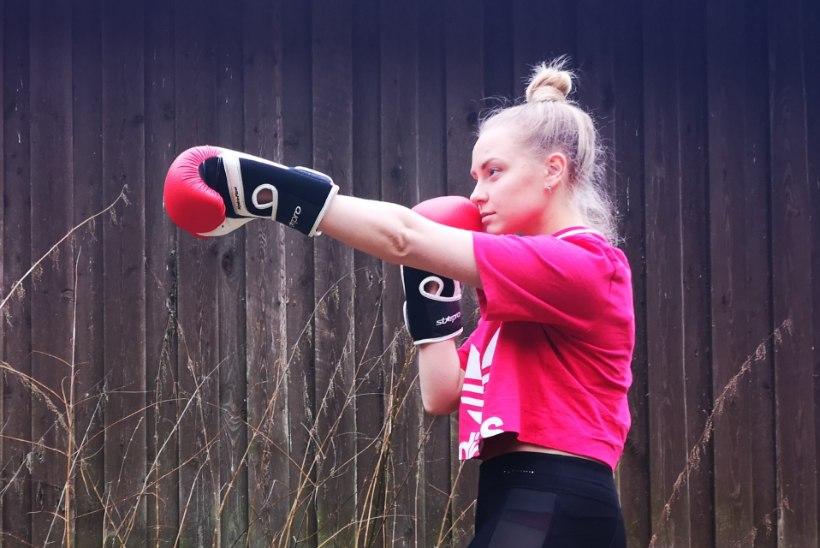 Tai poksi trennis käiv Lii: poole aastaga olen muutunud energilisemaks ja tervemaks. Hea, et see muutub harjumuseks!