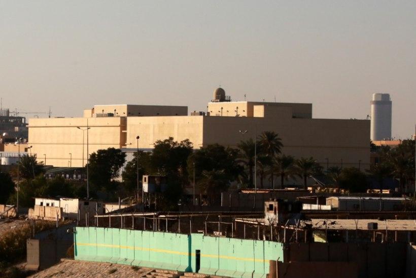 Bagdadis tulistati mitu raketti USA saatkonna pihta