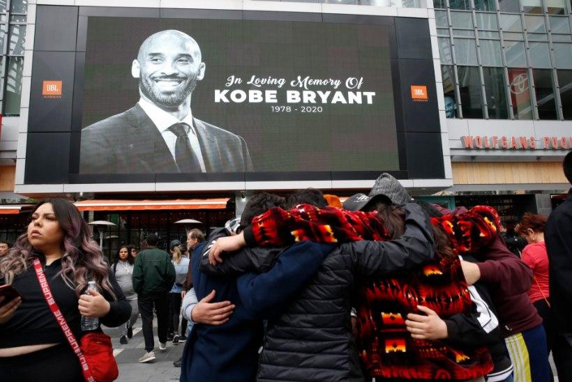 """FOTOD JA VIDEOD   Korvpallimaailm leinab Kobe Bryantit: """"Ma ei suuda sõnadesse panna seda valu, mida praegu tunnen. Armastan sind, vennas."""""""
