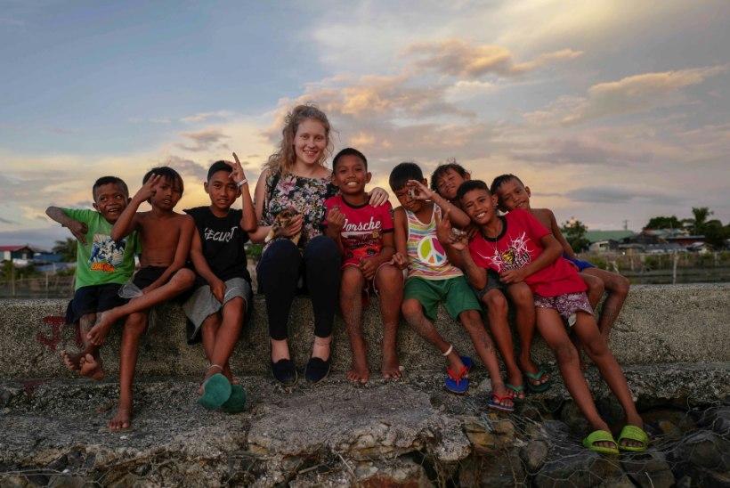 """""""JÄRGMINE PEATUS""""   Punase Risti vabatahtlik Filipiinidel: nüüd saan aru, mida tähendab, kui elu ripub juuksekarva otsas"""