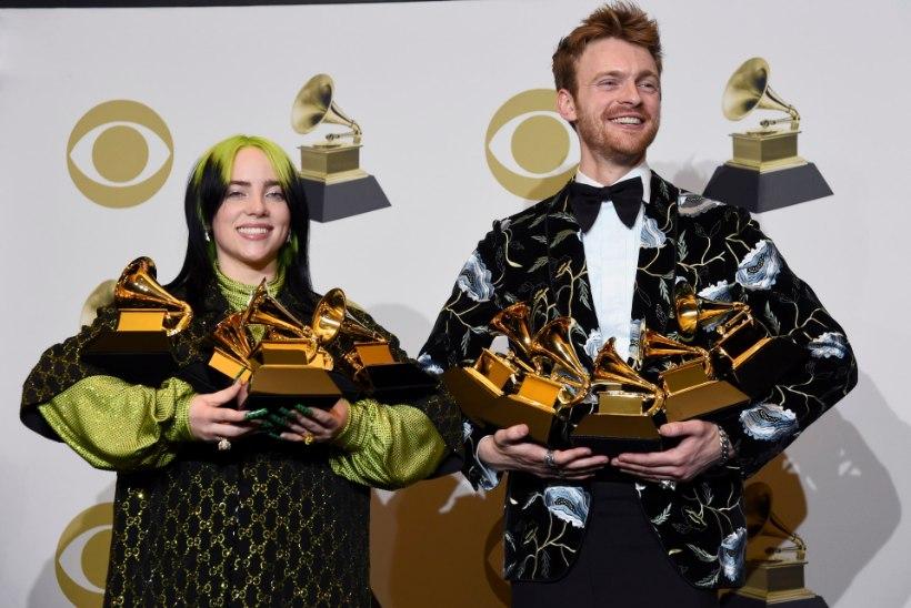 18aastane Billie Eilish sai Grammydel hakkama seninägematu triumfiga