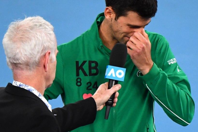 Pisarais Djokovic: Kobe Bryant oli mu sõber, ta oli minu jaoks alati olemas