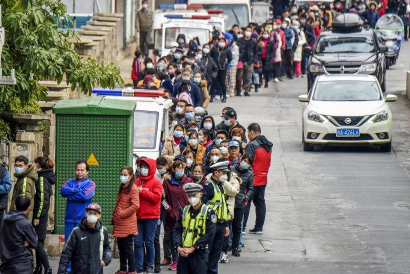 Uus koroonaviirus jätkab levimist. Juba 132 surnut, esialgu kõik Hiinas
