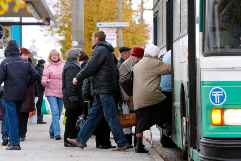 Vastukaja | Mööda turgusid traaviv vanur jaksab ka bussis seista