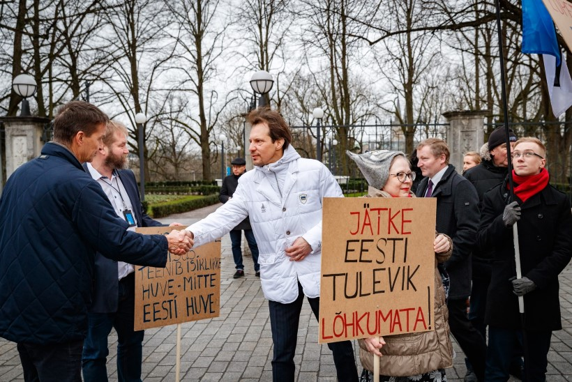 GALERII | Kaja Kallas: pensionireform on kuritegu meie tuleviku suhtes