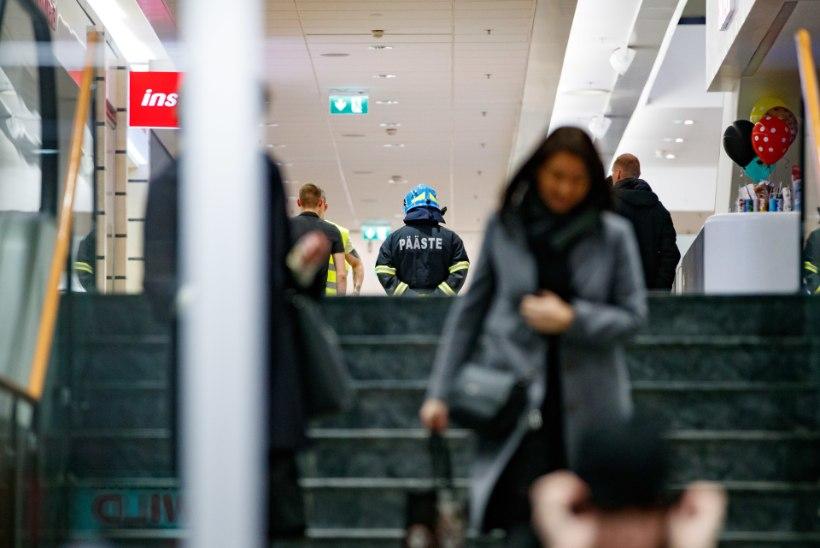 Viru keskuse töötaja hämmeldus: meil endil kästi pärast pommiähvardust tööruumid üle kontrollida!