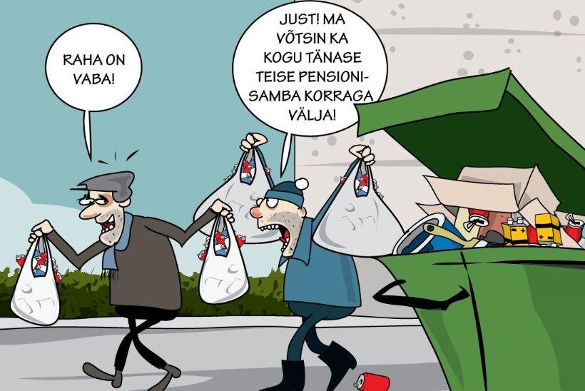 Karikatuur   Raha on vaba