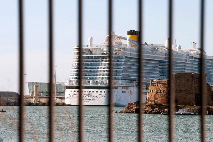 HÄIRE LÕPP: kruiisilaeval Costa Smeralda kardetud koroonaviirust ei leitud