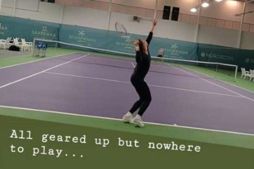Kaia Kanepi: olen valmis, aga kusagil pole mängida