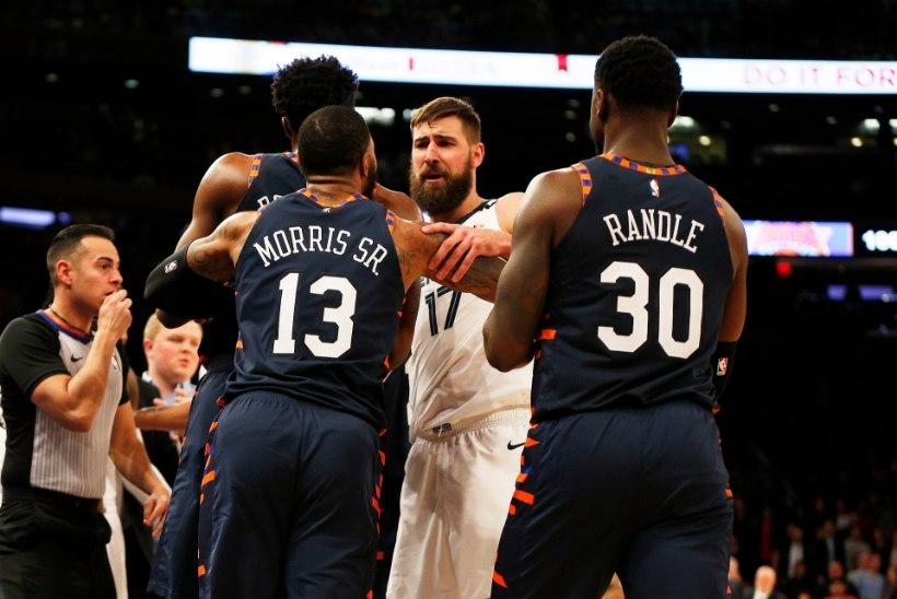 NBA korvpallur peale massikähmlust: Crowder mängib nagu naine