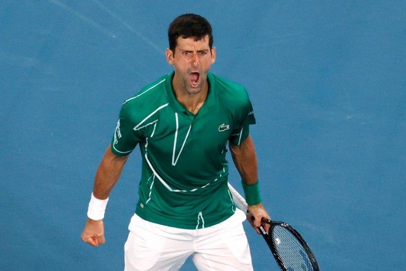 Djokovic alistas kindlalt Federeri ning pääses Austraalia lahtistel finaali