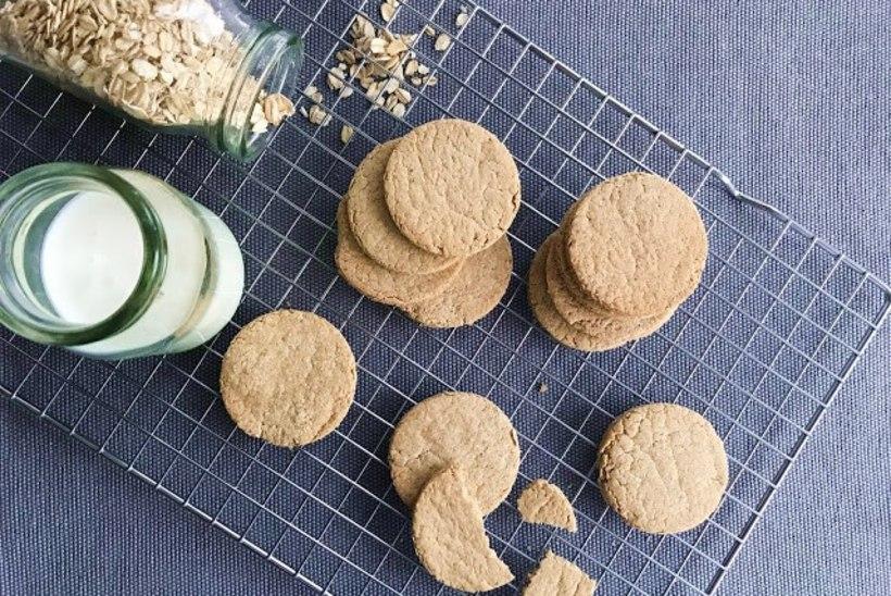 Mõnusalt toitev ja maitsev amps: oatcakes ehk šoti kaerakreekerid