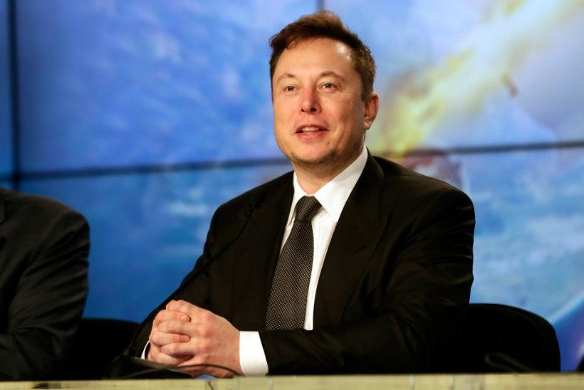 MULTITALENT: Elon Musk andis välja tantsumuusikaloo!