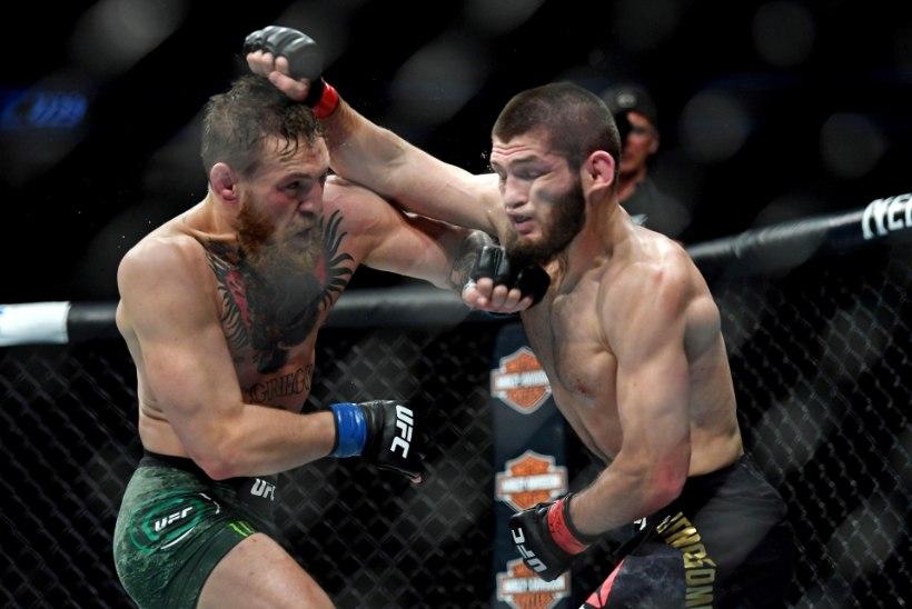 """Kas vabavõitluse kaks parimat kohtuvad uuesti? McGregor: """"Khabib väriseb, ta kardab mind. Ma haistan s***a!"""""""