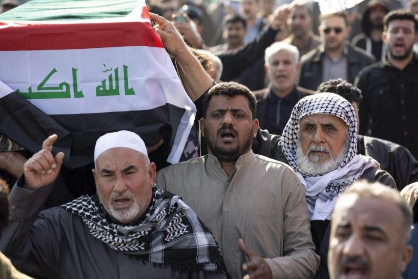 Iraagi parlament soovib kõik USA väed riigist välja saata