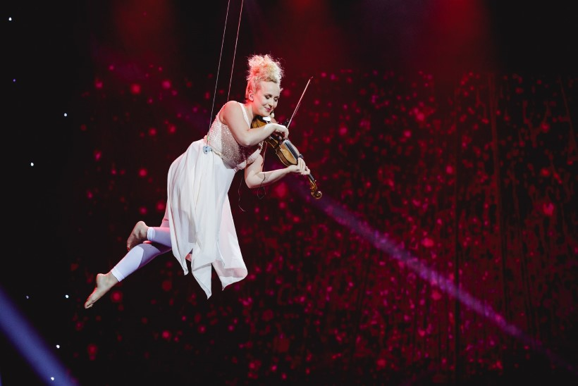 FOTOD | Eeva Talsi tegi elu ekstreemseima etteaste: kardan väga kõrgust ja kogu number oli minu jaoks tehniliselt suur väljakutse