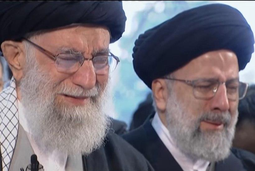 VIDEO   Iraani kõrgeim juht lasi tapetud kindrali matustel pisarail voolata