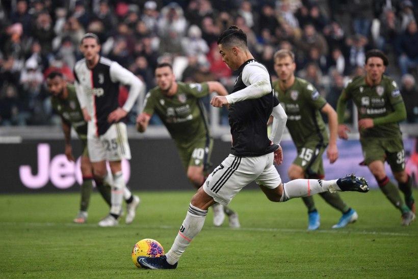 VIDEO | Ronaldo lõikas Klavani söödu vahelt ja lõi Juventuse võiduvärava