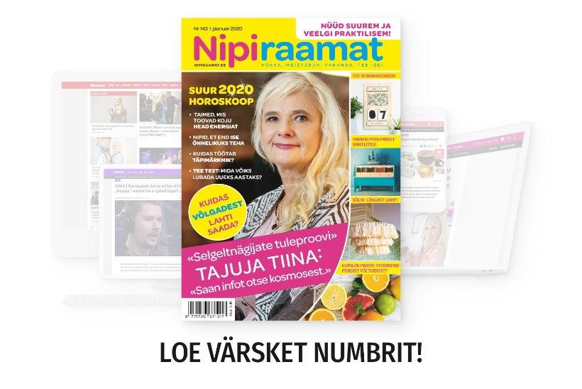 JAANUARIKUU NIPIRAAMAT | Loe nüüd ajakirja ka veebis!