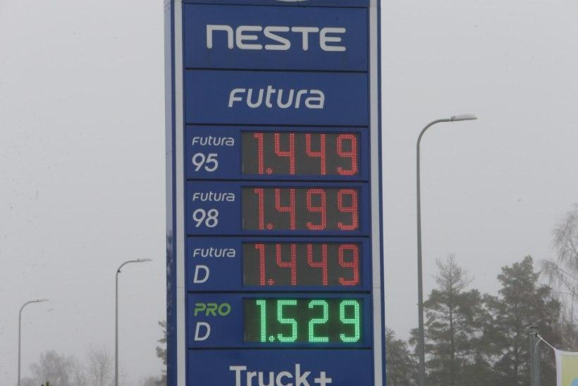 FOTOD | LAGI KÄES? Eestis sündis diislikütuse hinnarekord