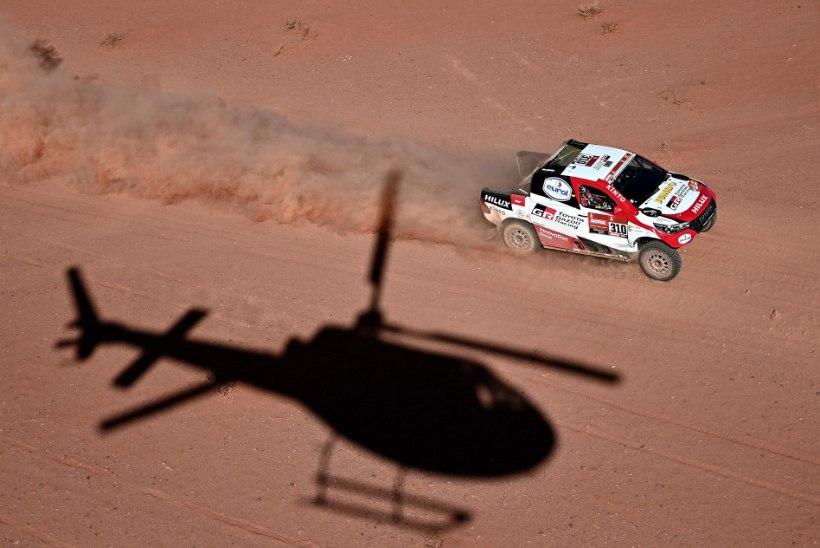 Dakari ralli liidriks tõusis Sainz, kahekordne vormel 1 maailmameister näitas viiendat aega