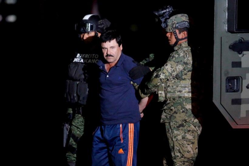MINEVIKUHETK | 8. jaanuar: Mehhiko võimud tabasid kurikuulsa narkoparuni