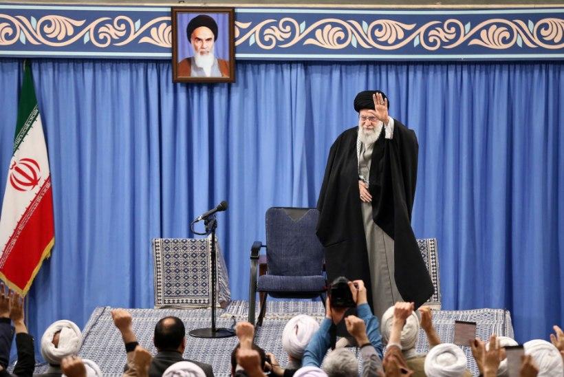 Iraani kõrgeim juht: raketirünnakuga andsime USA-le hoobi näkku