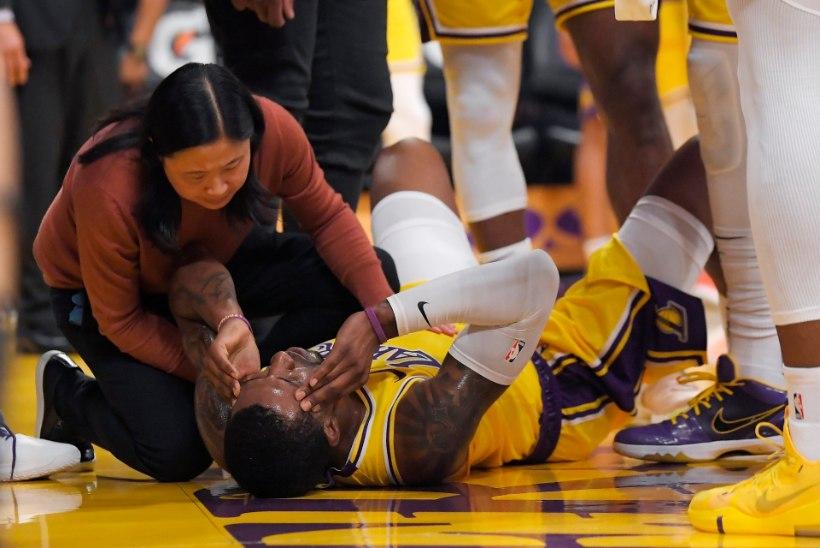 VIDEO | ÕUDNE! NBAs üritas mängija vastasel pead otsast virutada