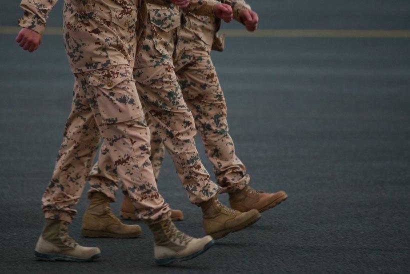 Eesti kaitseväelased jõudsid Iraagist Kuveiti