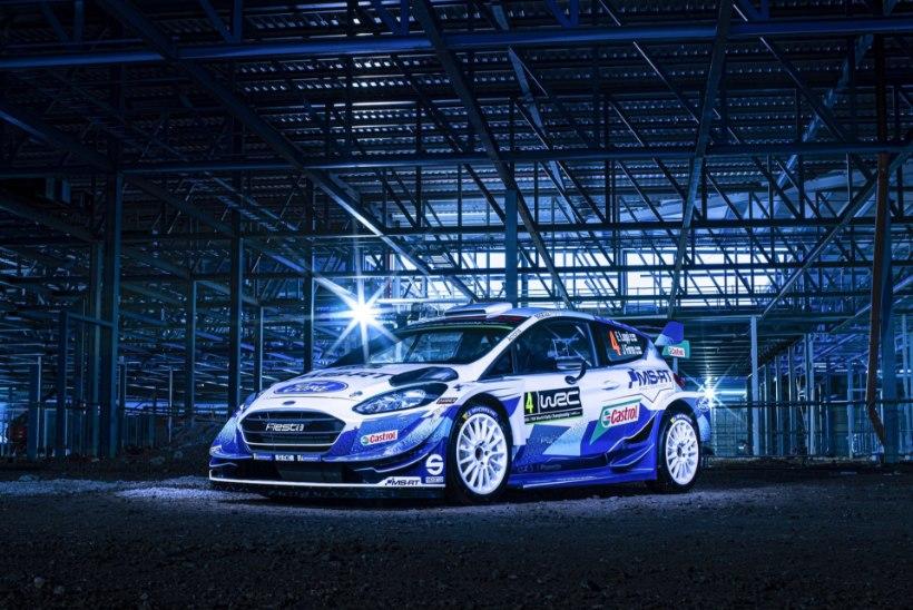 STIILSED FOTOD | M-Sport esitles uut ralliautot