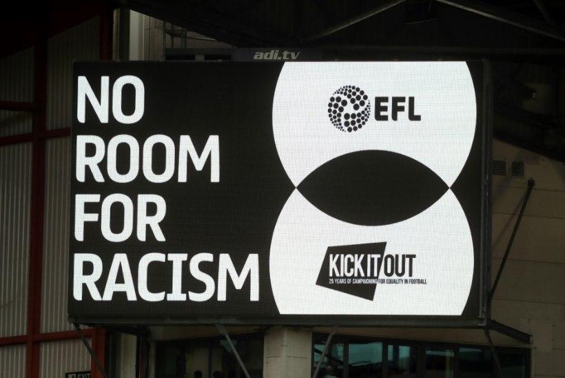 AITAB JAMAST! Professionaalsete jalgpallurite ühendus tahab rassistid vangi saata
