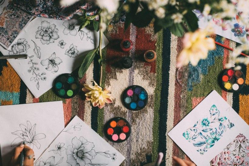 MANDALA | Värvi end rõõmsaks!