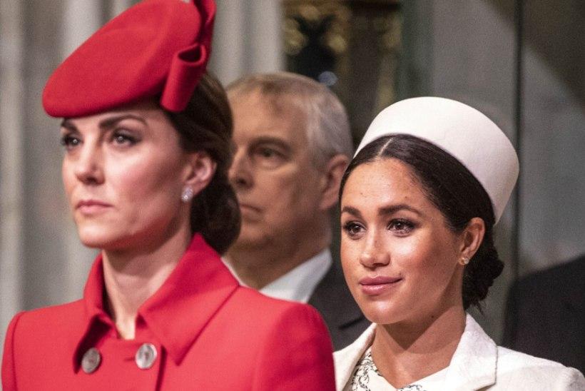 Hertsoginna Catherine'il on täna sünnipäev - kuid kõik räägivad vaid Meghanist ...