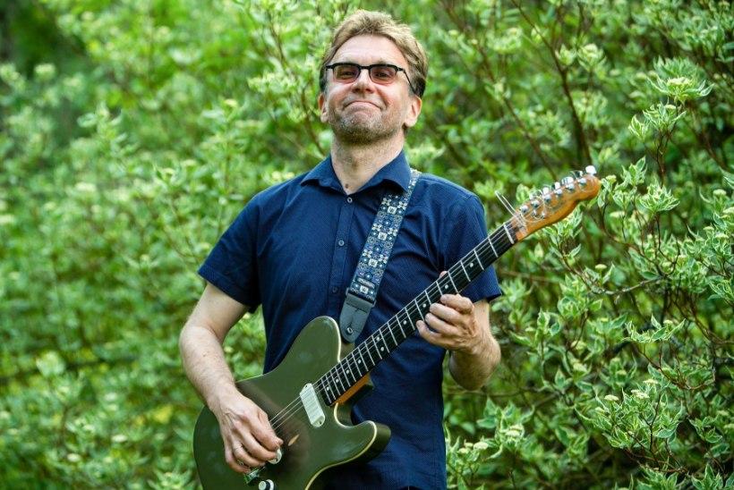 ÜHE PILDI LUGU   Jaak Sooäär esimest korda Jazzkaare pealaval: olin nii närvis, et kontserdi ajal läks kaks kitarrikeelt katki