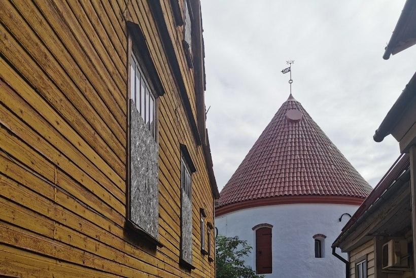 ÜHE TORNI LUGU: Punane torn – ainus mälestusmärk keskaegsest Pärnust