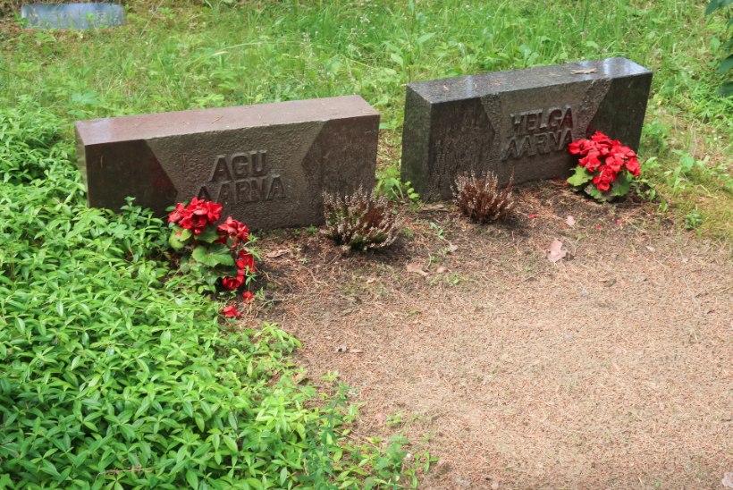 Voldemar Kuslapi kalmukolumn | Teadlased Metsakalmistu mändide all