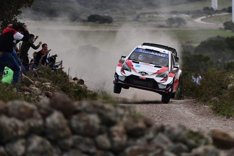VIDEO   Toyota ralliässa jaoks lõppes Sardiinia etapp suure avariiga