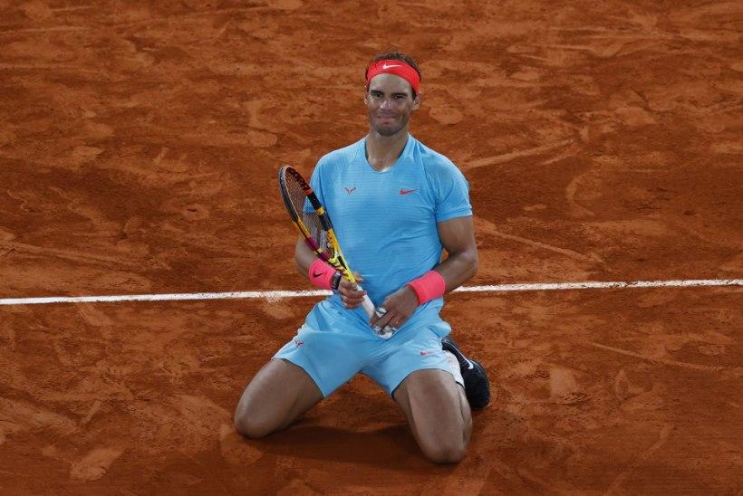 ULME! Nadal tegi Djokovici pihuks ja põrmuks ning võitis Prantsusmaal juba 13. korda