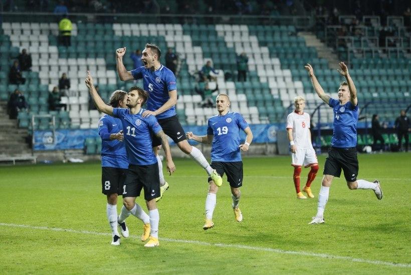 7 VÕTIT | Vapralt võidelnud Eesti mängis maha 3 : 1 edu, kuid teenis rahvuste liigas esimese punkti