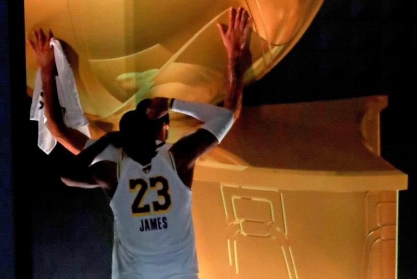 Lakers võitis 17. NBA meistritiitli, LeBron James finaalseeria parim